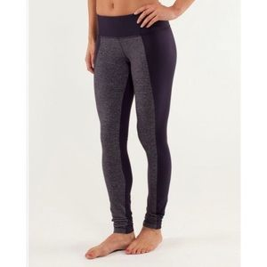 Lululemon Wunder Under Pant Colour Blocked